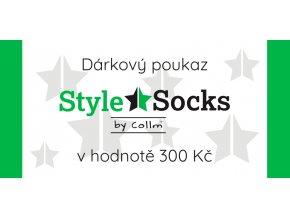 darkovy poukaz style socks 300