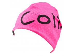 sportovní růžová čepice