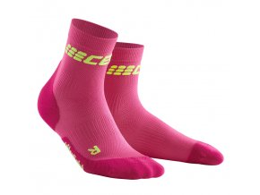 Dámské kompresní ponožky CEP ULTRALIGHT růžové