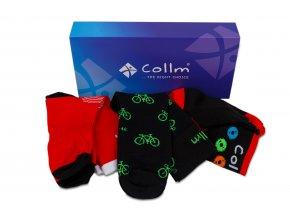 ponožky na kolo v dárkovém balení