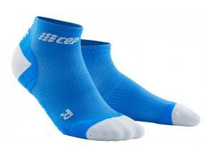 kompresní ponožky modré