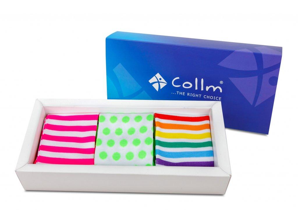 Darčekové balenie ponožky COLLM ACTIVE II