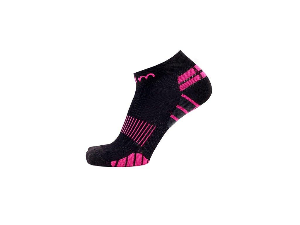 6c64a796cbb31 Kompresné ponožky na beh - ružové - WWW.COLLM.SK