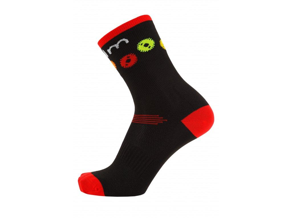 Sportovní ponožky na kolo GEAR (Velikost EUR 43 - 46)