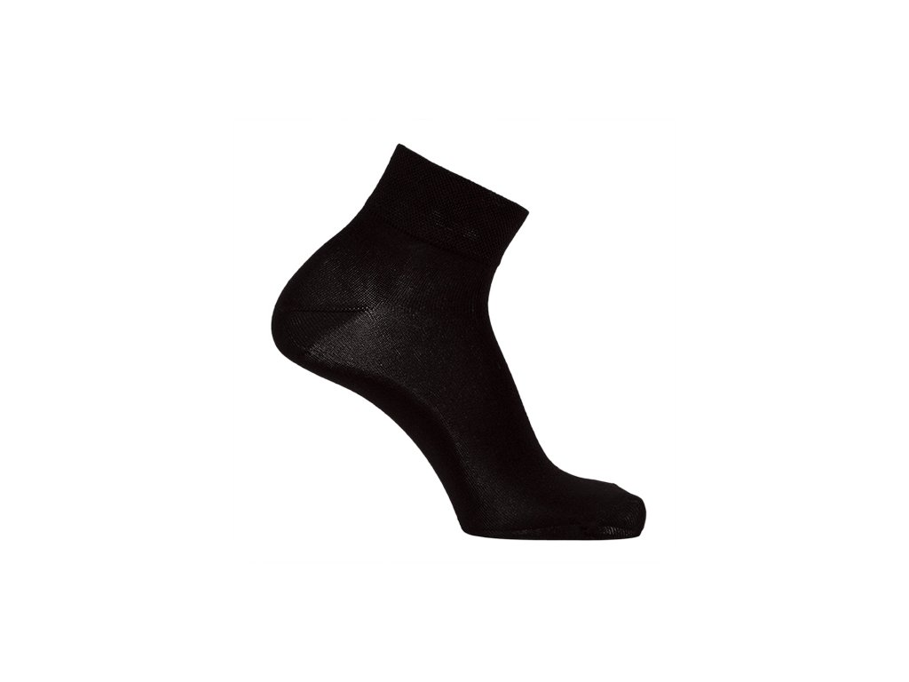 7307d667fdf2 Bambusové ponožky nízké - balení 3páry černé (Velikost 24 - 25 cm (37-