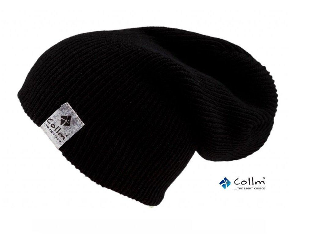 pletená čierna