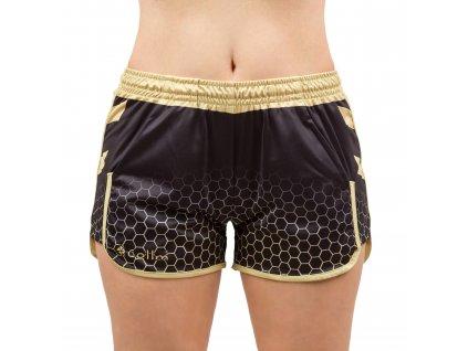 Dámske športové šortky COLLM ACTIVE GOLD