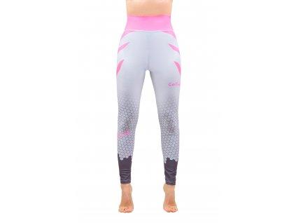 sportovni leginy collm silver pink