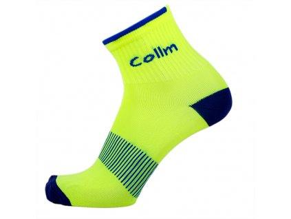 Reflexní ponožky žluté