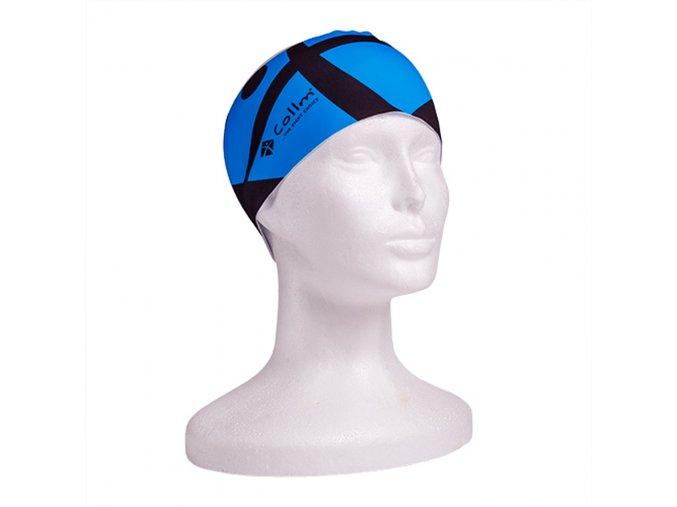 Sportovní čelenka pánská modrá na běh