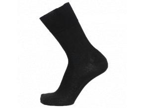 Ponožky se stříbrem BIO COTTON černé - 3páry (Velikost S 4-5 (37-38))