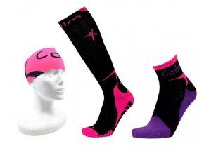 Sportovní balíček - růžový (Velikost L 8-9 (42-44))