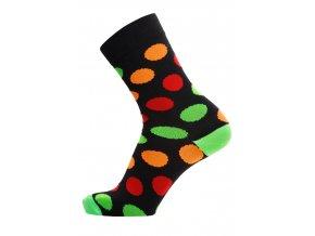 ponozky barevne puntiky collm