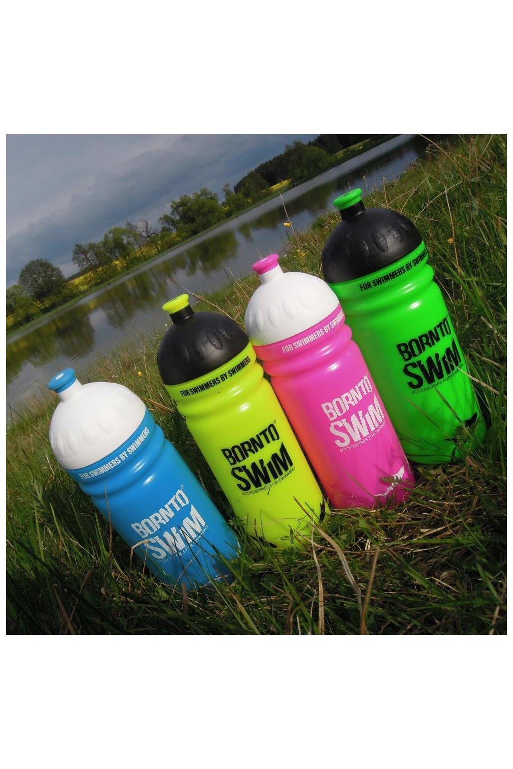 BornToSwim sportovní láhev