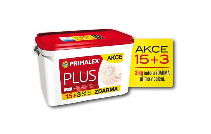 Primalex PLUS 15 + 3 kg