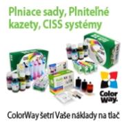 ColorWay riešenia pre lacnejšiu atramentovú tlač