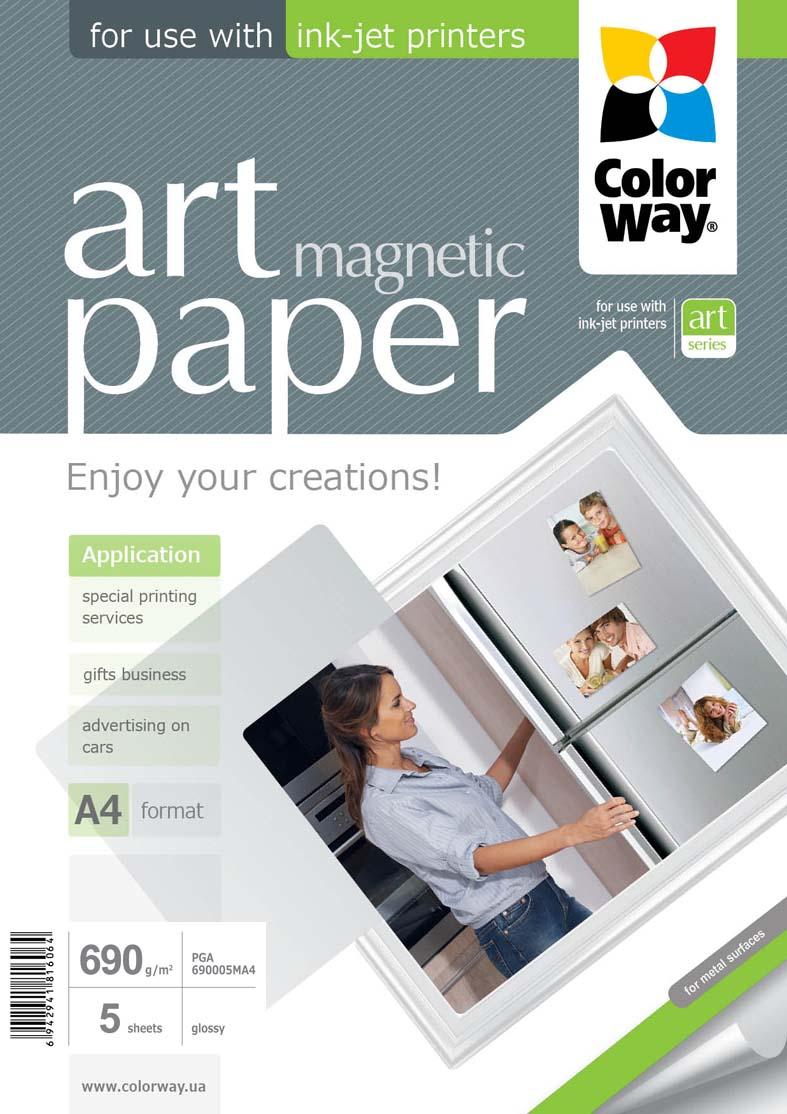 Magnetický papier