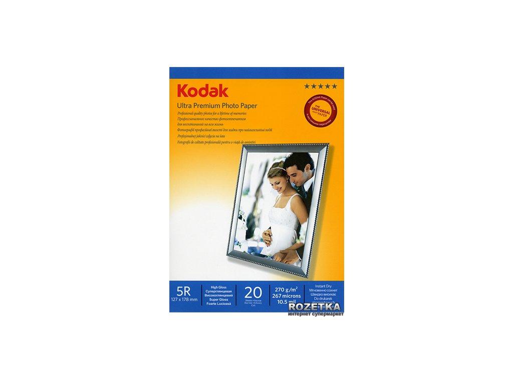 Fotopapier Kodak Premium vysokolesklý 270g/m², 20ks, 13x18