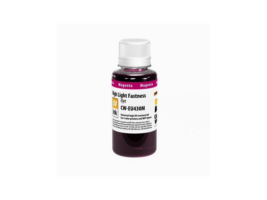 Atrament Epson UV odolný 100ml - magenta (pre 4-farebné tlačiarne)