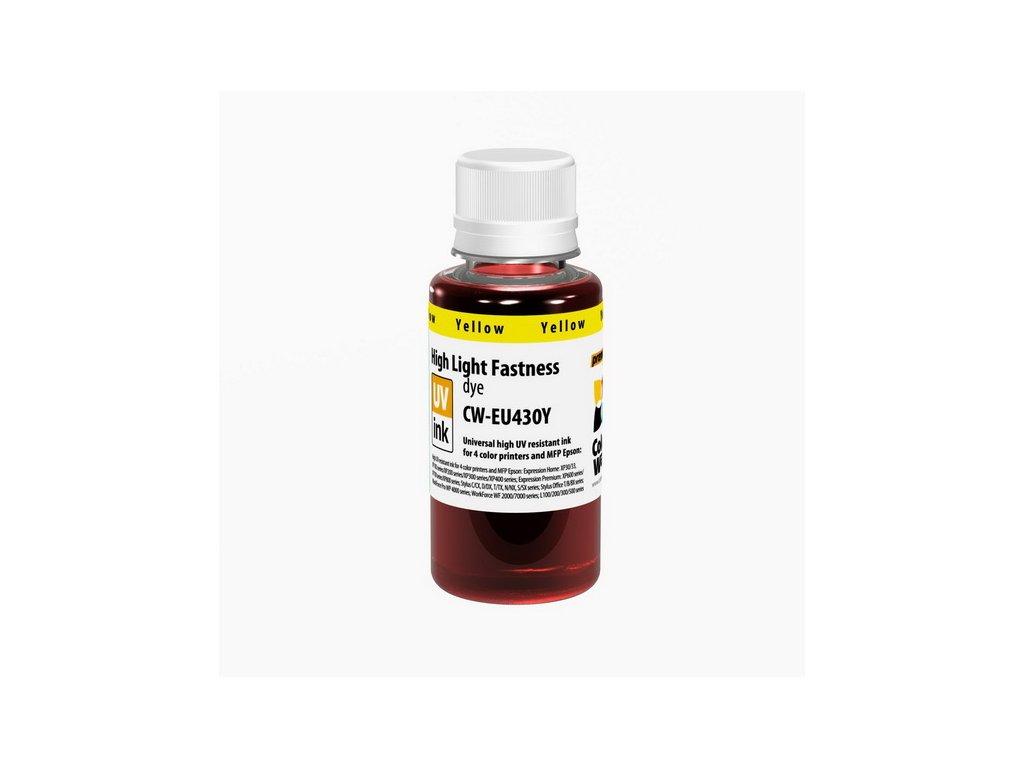Atrament Epson UV odolný 100ml - yellow (pre 4-farebné tlačiarne)