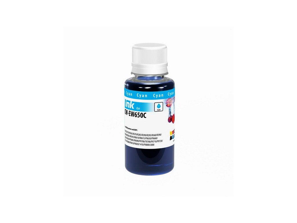 Atrament Epson Cyan - 100ml/200ml (pre 6-farebné tlačiarne)