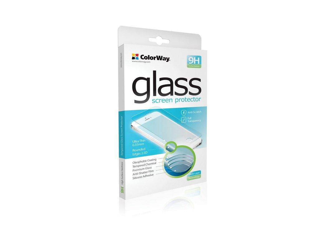 Tvrdené sklo 9H ColorWay CW-GSREAI7P3DRG pre iPhone 7 Plus 3D Rose Gold, 0.33mm