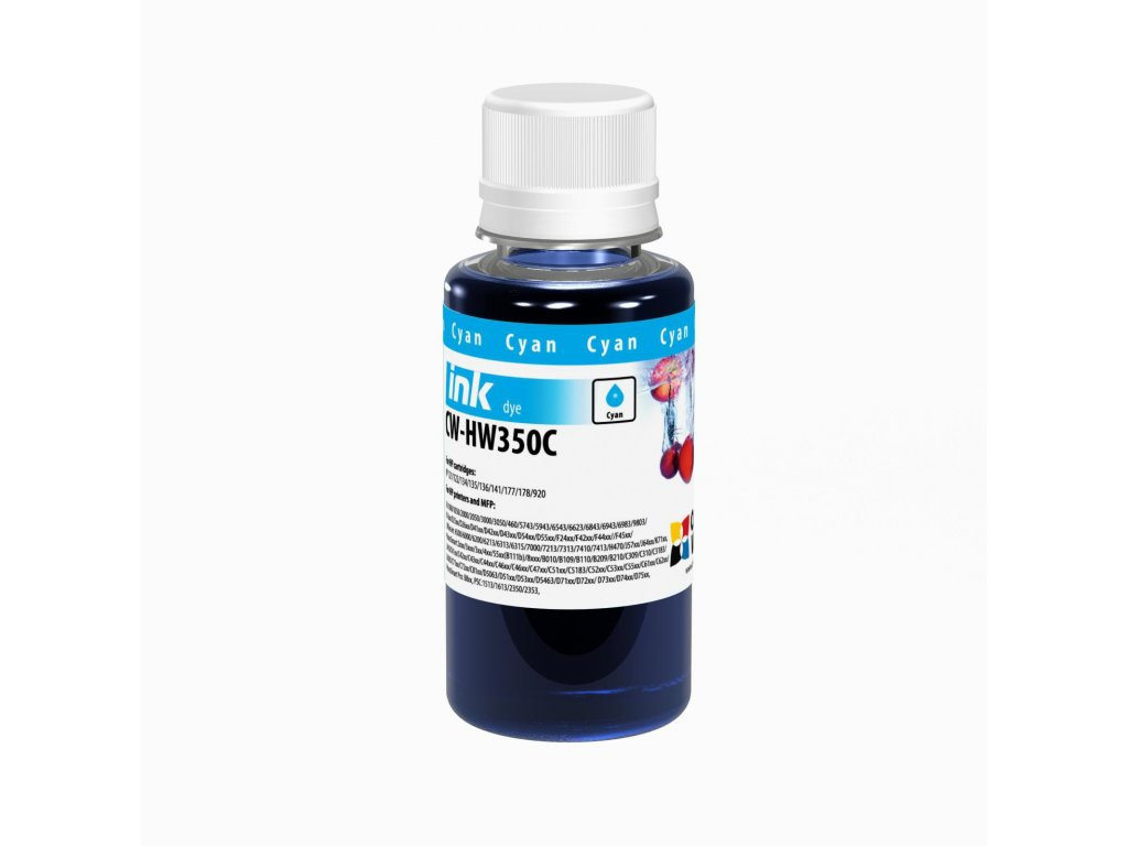 Atrament HP Cyan - 100ml/200ml