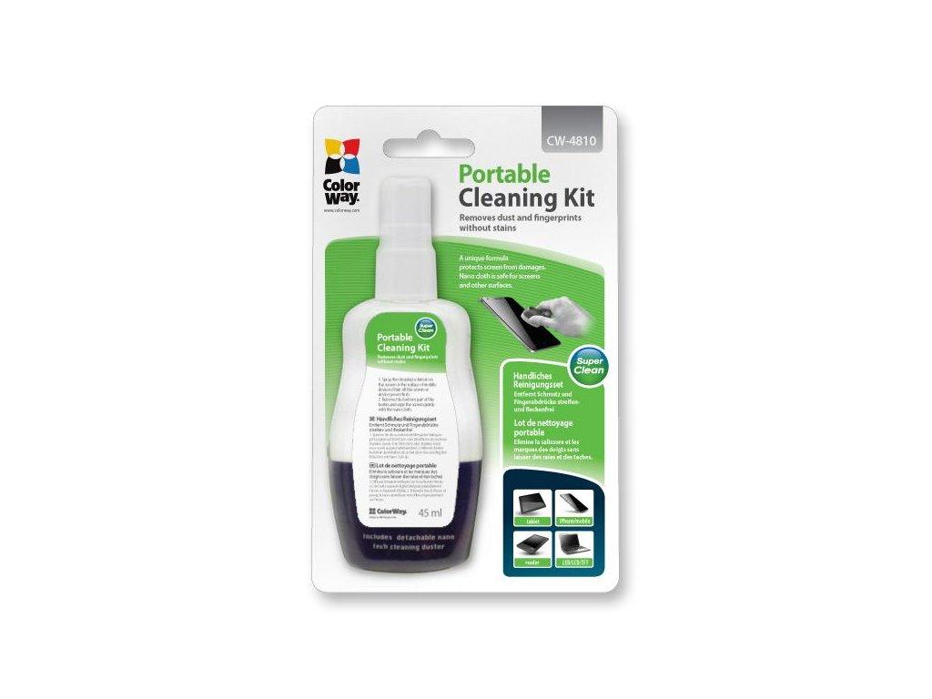 Prenosná čistiaca sada CW-4810