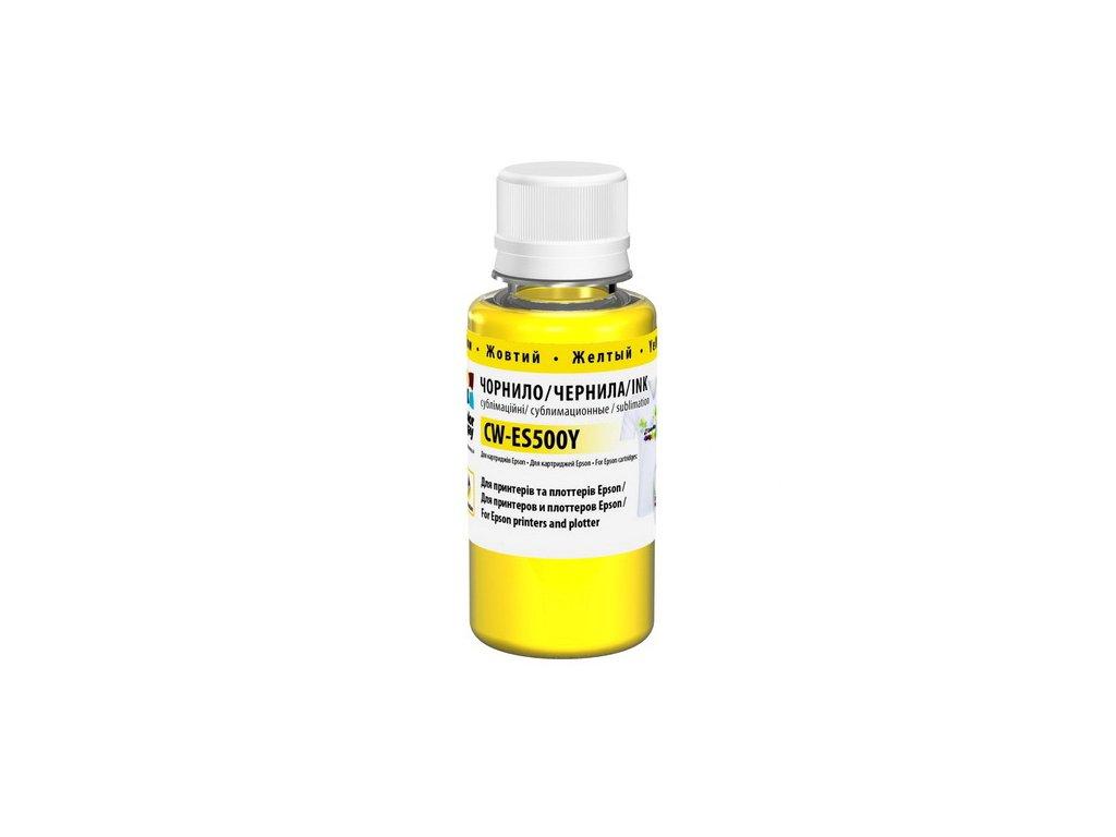 Sublimačný atrament ColorWay 200ml - yellow