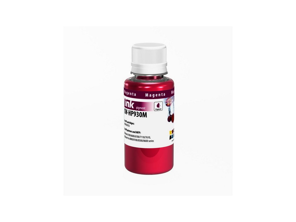Atrament ColorWay pre HP 933/951 magenta - 100ml