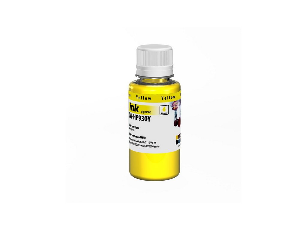 Atrament ColorWay pre HP 933/951 yellow - 100ml