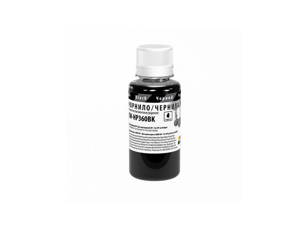Atrament ColorWay pre HP 932/950 black - 100ml