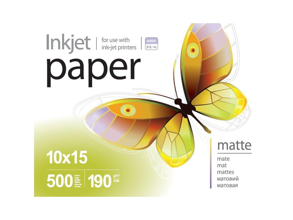Fotopapier PrintPro matný 190g/m²,500ks,10x15