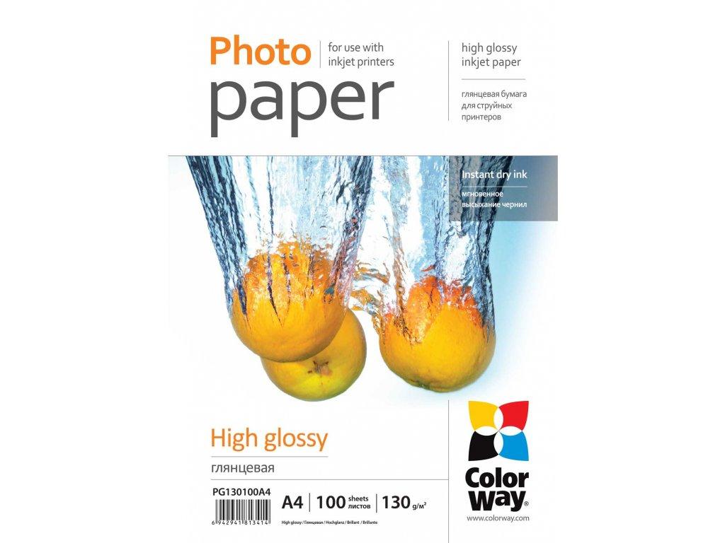 Fotopapier CW Vysoko lesklý 130g/m²,100ks,A4