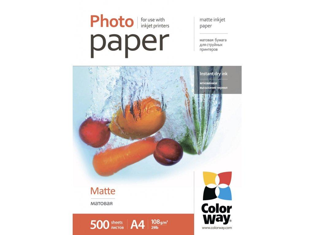 Fotopapier CW Matný 108g/m²,500ks,A4