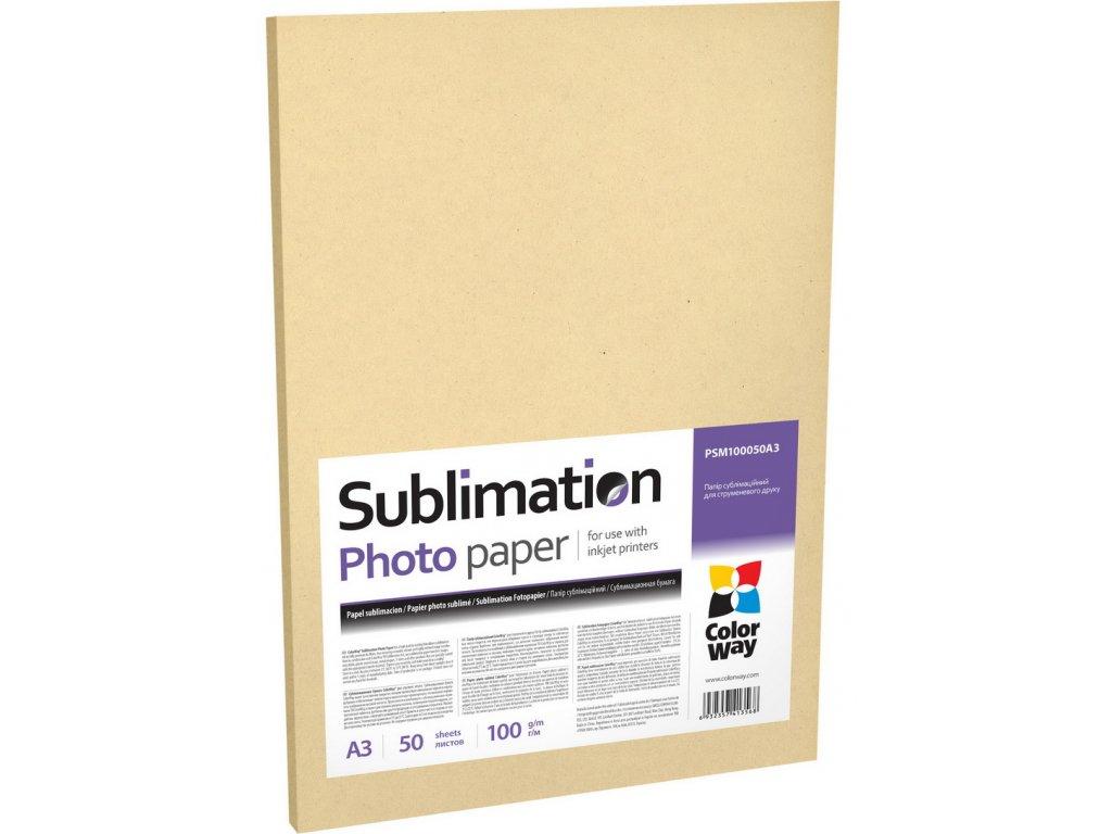 Fotopapier CW sublimačný 100g/m², 50ks, A3