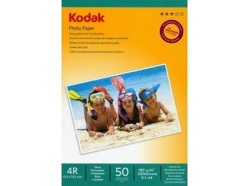 Fotopapier Kodak vysokolesklý 180g/m², 50ks, 10x15
