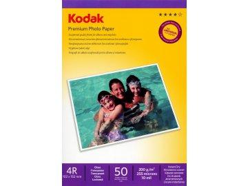 Fotopapier Kodak vysokolesklý 200g/m², 50ks, 10x15