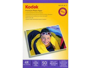 Fotopapier Kodak vysokolesklý 230g/m², 50ks, 10x15