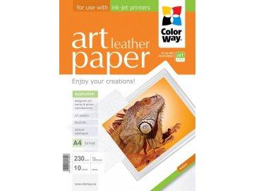 "Fotopapier CW ART Lesklý ""Leather"" 230g/m²,10ks,A4"