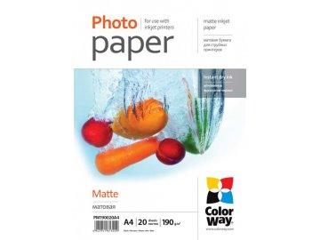 Fotopapier CW Matný 190g/m²,20ks,A4