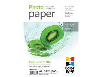Fotopapier CW Matný obojstranný 140g/m²,50ks,A4