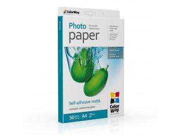 Fotopapier CW Matný samolepiaci 120/80g/m²,50ks,A4
