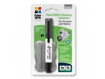 Čistiace pero na čistenie optiky a obrazoviek CW-6212