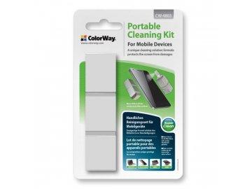 Prenosná čistiaca sada pre mobilné zariadenia CW-4803