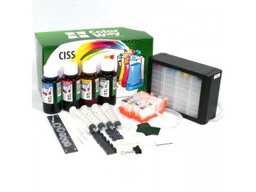 CISS CW pre HP 920 s čipmi + atrament