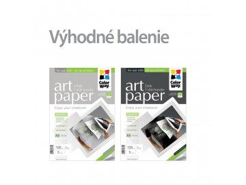 Nažehľovací papier CW 120g/m²,A4, 2x5ks (svetlý + tmavý) - set