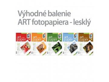 Fotopapier CW ART 230g/m²,lesklý,10ks,A4 - 5pack
