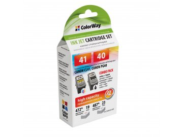 Canon PG-40 + CL-41 combo pack