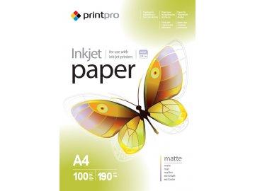 Fotopapier PrintPro matný 190g/m²,100ks,A4